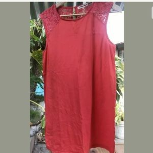 Michael Stars Sleeveless Tunic Dress Top